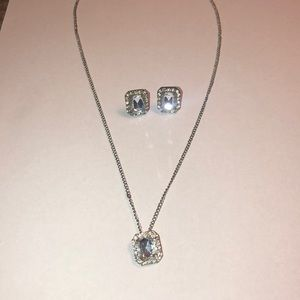 Diamond earnings and Necklace